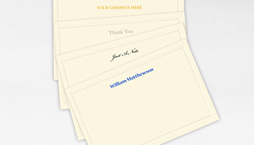 Correspondence Note Cards Pricing