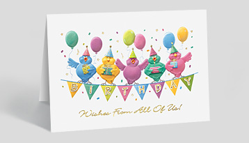 Company birthday cards personalized birthday cards the gallery birthday balloon cards m4hsunfo