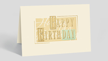 Company Birthday Cards Personalized