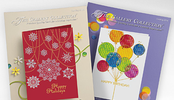 Business christmas cards corporate holiday cards the gallery free card catalog and samples m4hsunfo