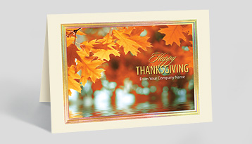 Business christmas cards corporate holiday cards the gallery thanksgiving cards m4hsunfo