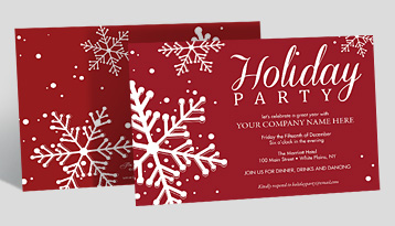 Business christmas cards corporate holiday cards the gallery holiday party invitations m4hsunfo